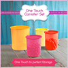One Touch Canister Set