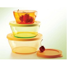 Clear Bowl  ( Set of 3 )