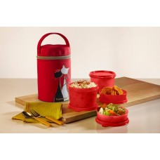 TupperMe Lunch Set ( inclusive of bag worth Rs.215/- )